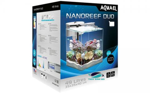 Bể cá mini Aquael Nano Reef Duo