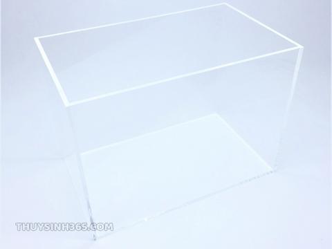 Bể cá mini hình chữ nhật chất liệu Acrylic siêu trong