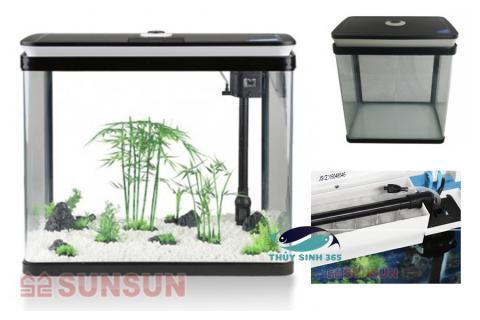 Bể cá Mini SUNSUN HRG 300 Trọn Bộ