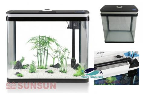 Bể cá mini Sunsun HRG-600 giá bình dân