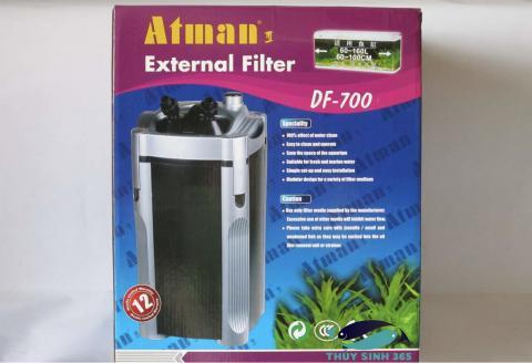Bộ lọc thùng ngoài Atman DF 700 cho hồ cá tầm chung