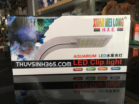 Đèn led kẹp Xuanmeilong dùng cho bể cá mini hoặc hồ thủy sinh