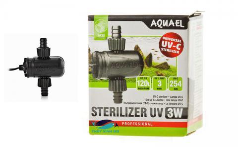 Đèn UV diệt khuẩn và rêu hại cho hồ cá  Aquael Sterilizer UV AS-3