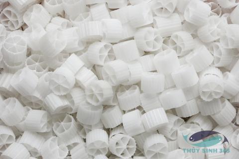 Hạt lọc nhựa Kaldnes gói 100gram tạo vi sinh