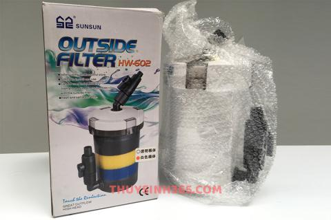 Lọc phụ không bơm - Out Side Filter Sunsun HW602