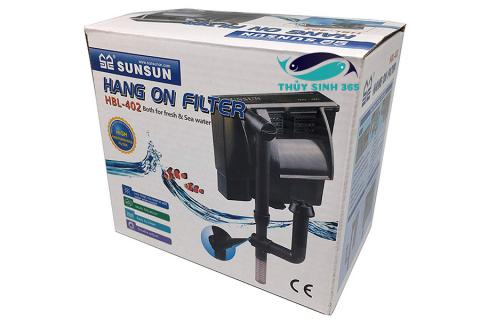 Lọc thác SUNSUN HBL-402 Hang on filter