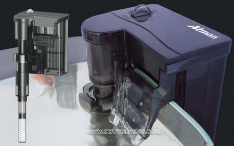 Lọc thác treo Atman HK-0100 tích hợp lọc váng đa năng