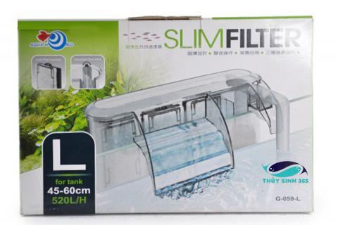 Lọc thác treo của UpAqua Slim Filter size L G-059-L