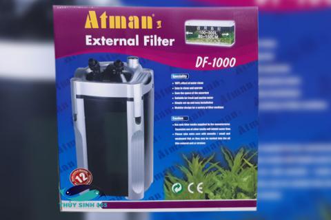 Lọc thùng ATMAN DF-1000 Lọc ngoài cao cấp