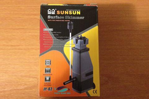 Lọc váng SunSun JY-02 loại cho hồ cá mini