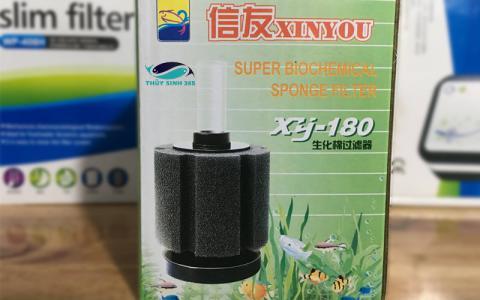 Lọc Vi Sinh BIO XinYou XY180 thích hợp cho hồ cá mini