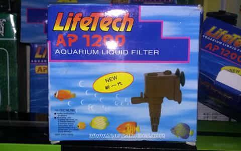 Máy bơm bể cá cao cấp Lifetech AP-1200
