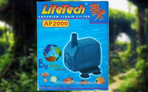 Máy bơm hồ cá Lifetech AP-2000 của hãng Lifetech