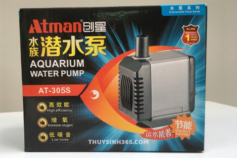 Máy bơm nước cho hồ cá AT 305S - Máy bơm nước mini Atman 305s