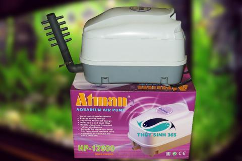 Máy Sủi Oxy Atman HP 4000 - HP 8000 - HP 12000