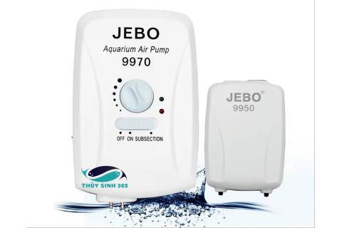 Máy sủi oxy Jebo 9970 và 9950 Tích hợp ác quy phòng mất điện
