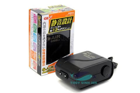 Máy sủi oxy mini Gex e-Air  6000 WB xuất xứ Nhật Bản