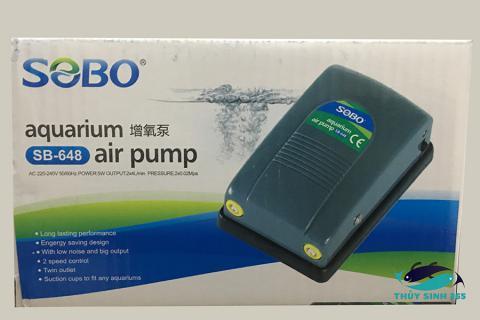 Sủi oxy mini 2 vòi của Sobo SB 648