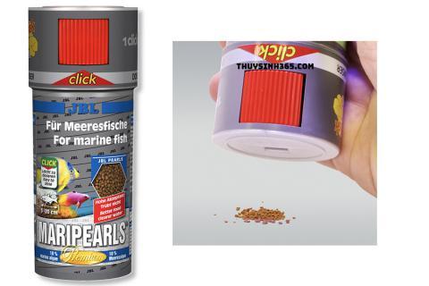 Thức ăn cao cấp dành cho cá biển JBL MariPearls CLICK