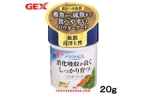 Thức ăn cao cấp dành cho cá bột Gex Killifish Powder Food