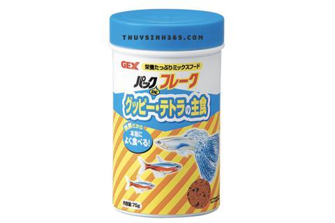 Thức ăn cho cá bảy màu Gex Pack De Flake Guppy