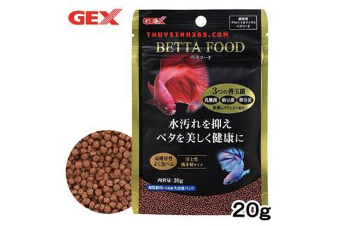 Thức ăn cho cá Beta Gex Betta Food loại 20g