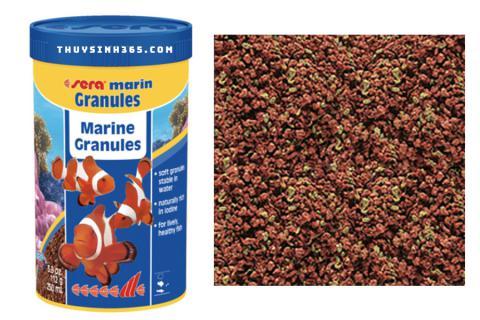 Thức ăn cho cá biển Sera Marin Granules loại 116g