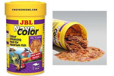 Thức ăn cho cá cảnh dạng miếng kích lên màu cá JBL NovoColor