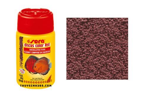 Thức ăn cho cá Dĩa màu đỏ Sera Discus Color Red