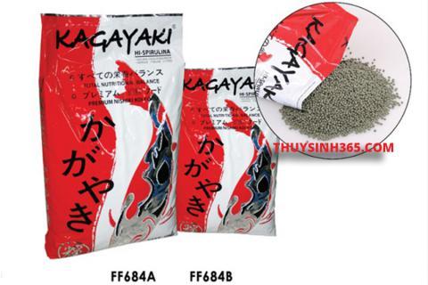 Thức ăn cho cá Koi lên màu Kagayaki Koi Food Spirulina