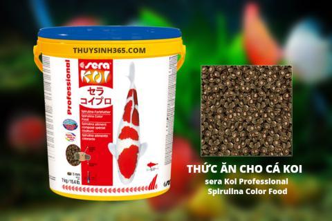 Thức ăn cho cá Koi - Sera Koi Professional Spirulina Color Food Xuất Xứ Tại Đức