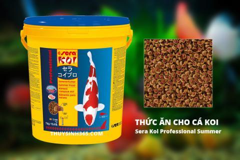 Thức ăn cho cá koi Sera Koi Professional Summer 7kg