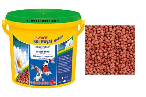 Thức ăn cho cá Koi Sera Koi Royal Medium