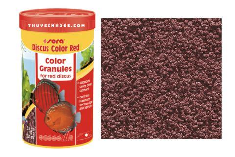 Thức ăn dành cho cá dĩa Sera Discus Color Red loại 112g