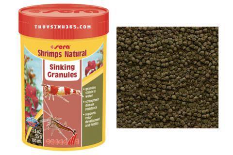 Thức ăn dành riêng cho Tép Ong lên màu Sera Shrimp Natural