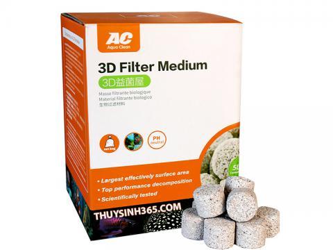 Vật liệu lọc cao cấp 3D Filter Medium của Aqua Clean